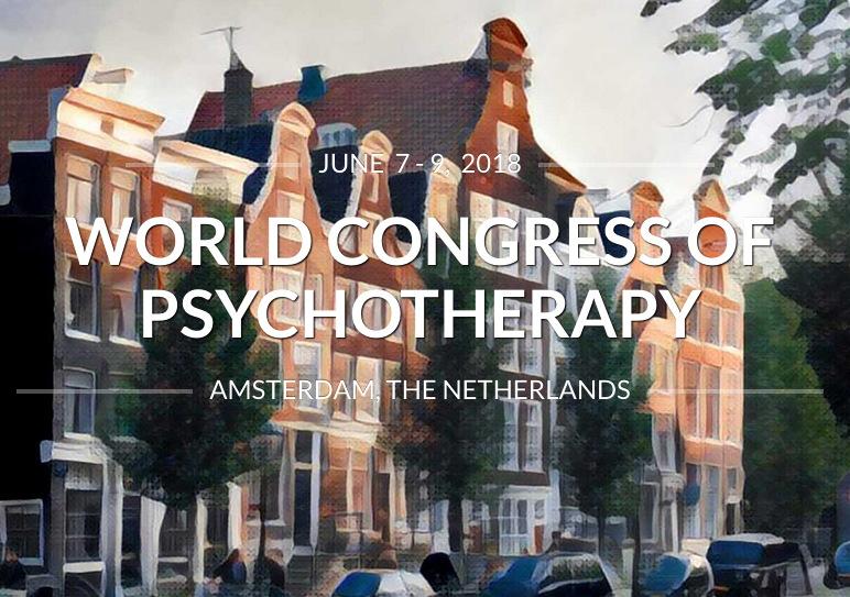 Congresso Mondiale di Psicoterapia, giugno 2018
